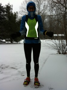 Embracing winter running in Michigan.