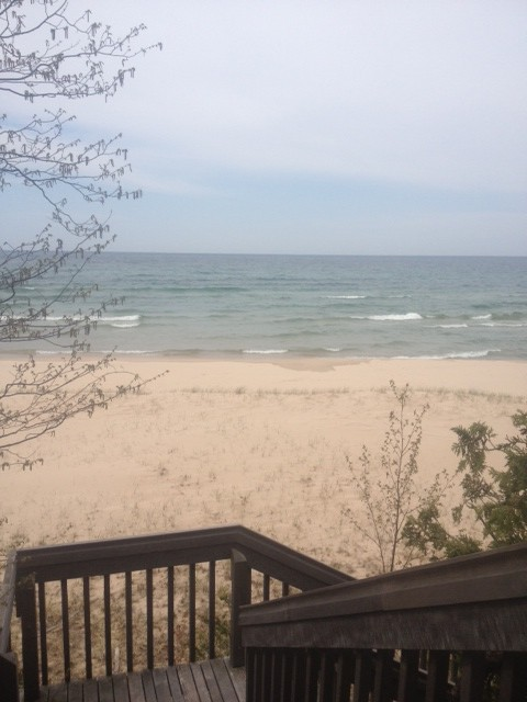 Lake Michigan.