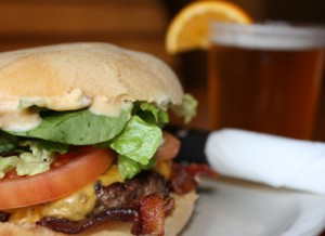 Bubba's is known for its scrumptious burgers.