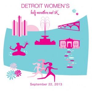 Detroit-Women's-Half-Marathon-Illustration-1