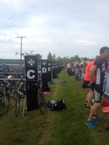 Transition area.