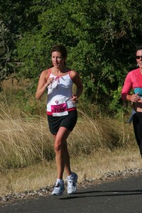 Running the Eugene Women's Half Marathon, my first trip to beautiful Oregon.