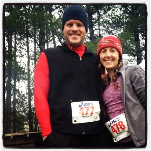 "Years after our ""kinda first date"" when I attempted to run with Joe, we run races together."