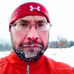 Kevin, after his run this past Tuesday at Stony Creek Metro Park.