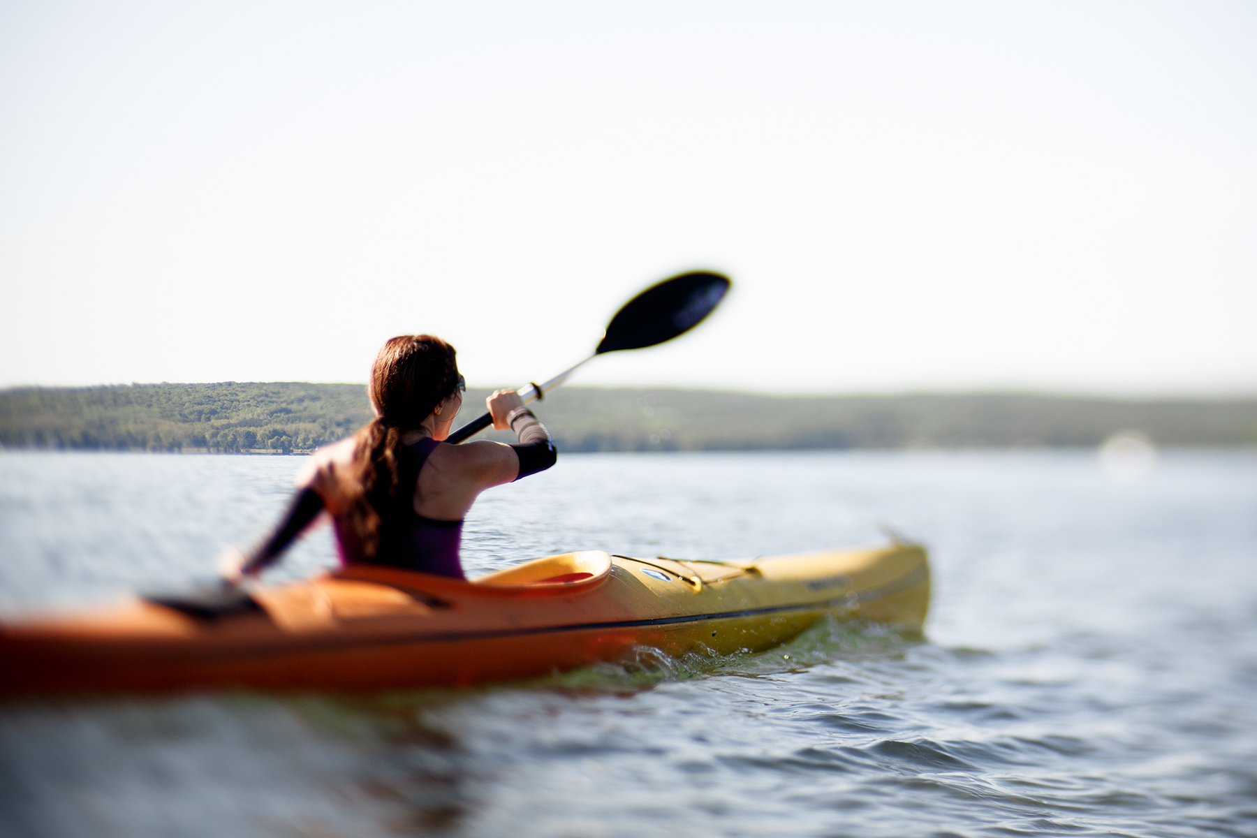 I used my own kayak this year. / Beth Price Photography.