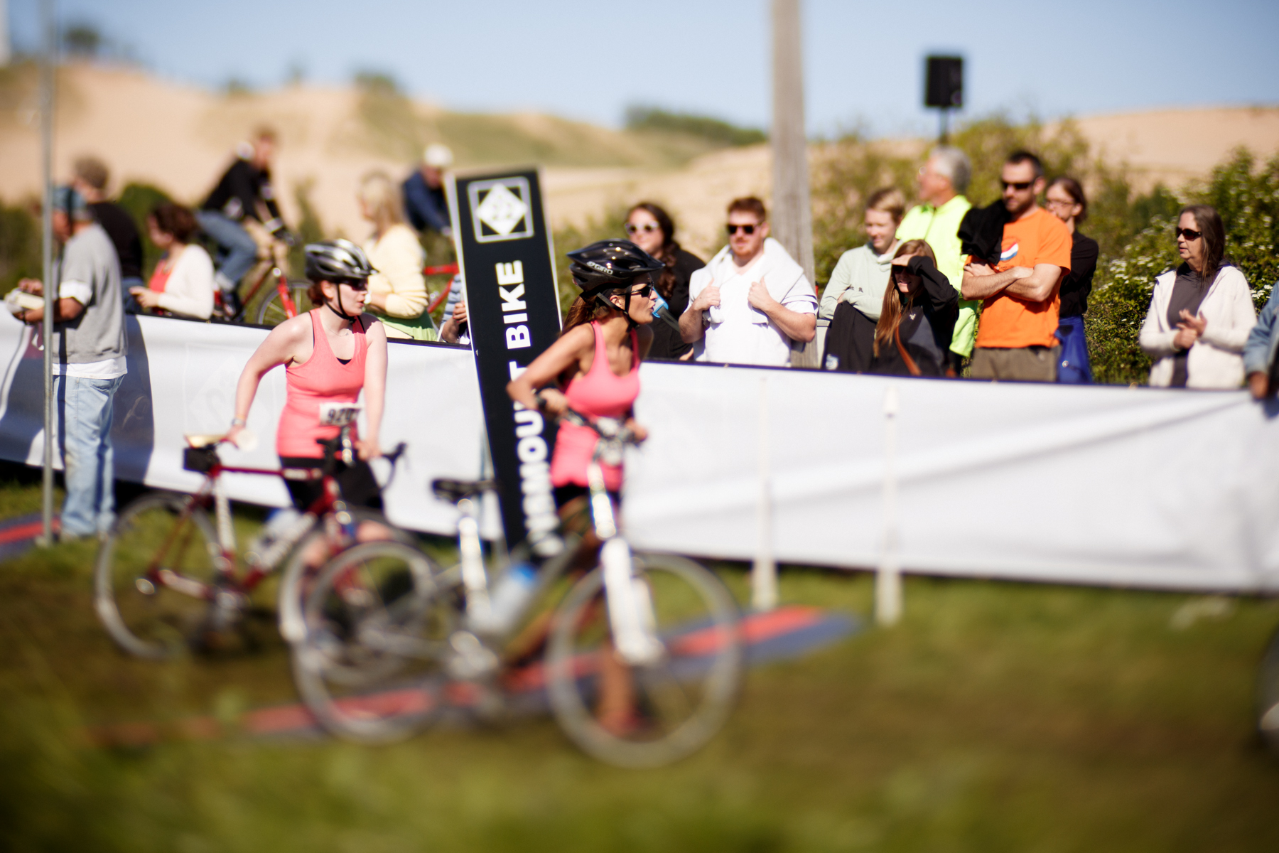 Riders heading out for the bike portion. / Beth Price Photography