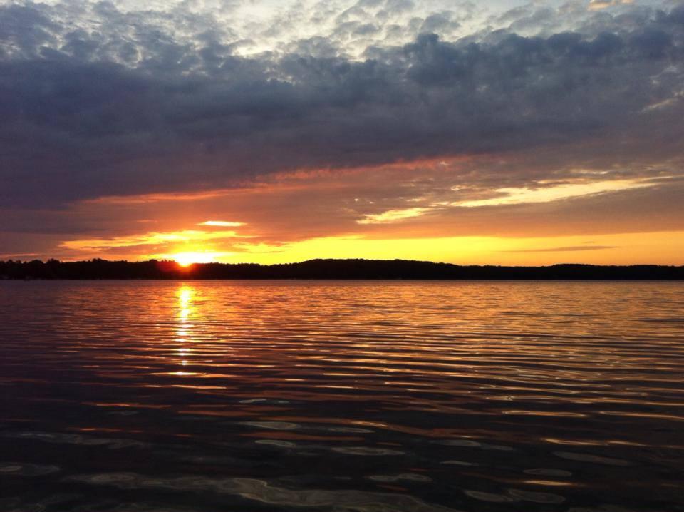 Sunrise over Long Lake, Traverse City, Michigan./photo courtesy Krista Scott.