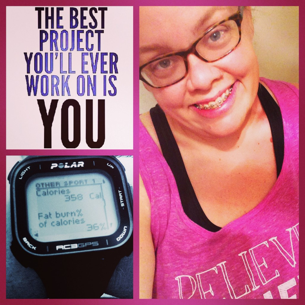 Running may have taken a back-burner, but T-25 workouts kept Heather Q. going through an especially busy time of year.