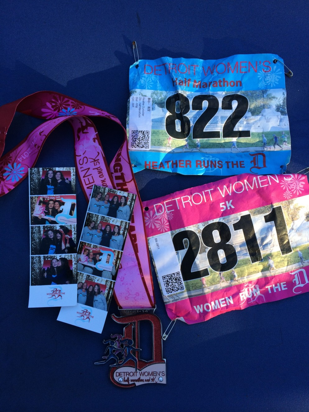 Momentos from our weekend in Detroit. We had so much fun expo'ing and running the Detroit Women's Half Marathon & 5K.