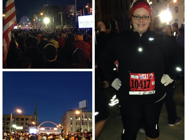 Heather Quinlan, a Detroit runner who contributes regularly to MRG, ran the Detroit Free Press Talmer Bank Half Marathon earlier this month -- her 8th 13.1.