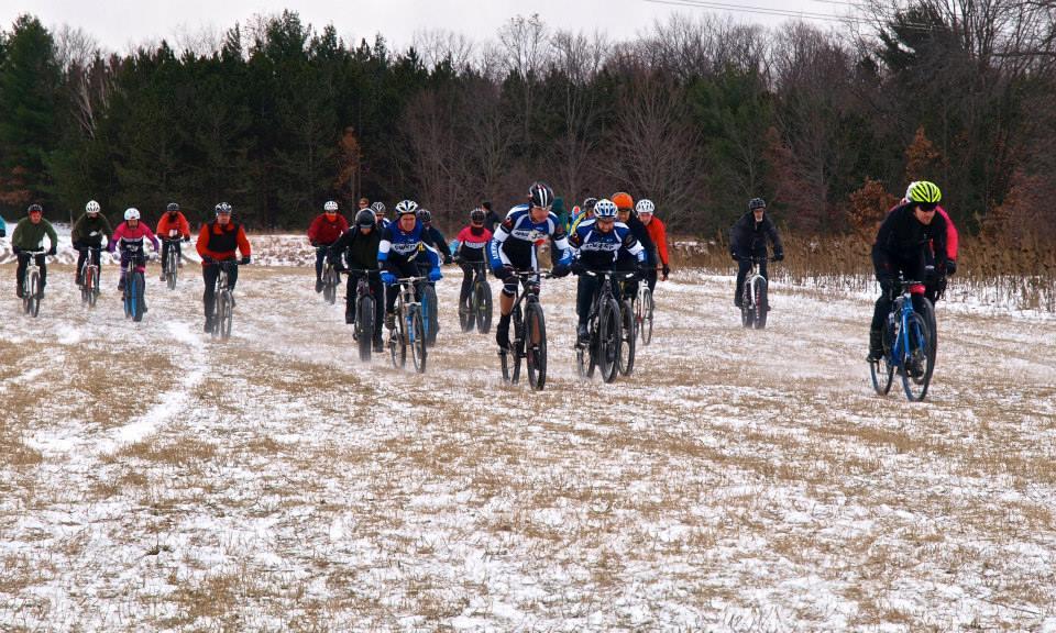 The Farmland 5K also includes a bike race.