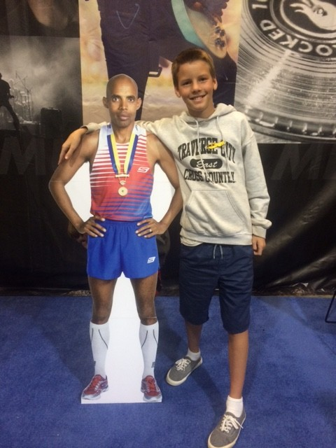 There's Meb again! With Andrew this time. :)