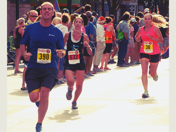 The Festival of Races, featuring a half marathon, 15K, 10K & 5K, takes place Saturday, July 11 in Traverse City during the weeklong National Cherry Festival.