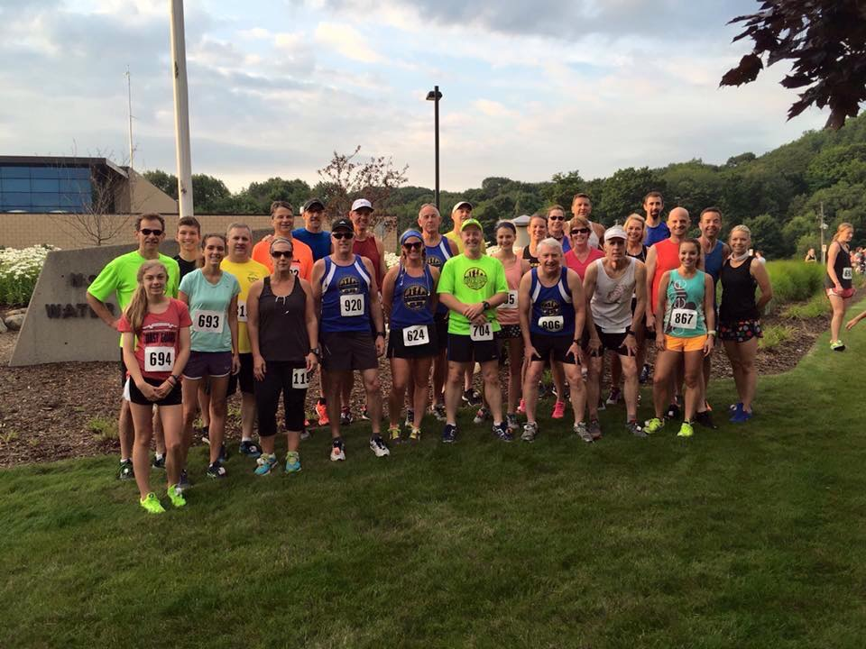 Members of the Grand Haven Running Club.