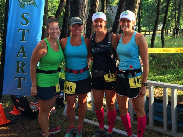 Erin, Katie, Heather and Pam at this summer's Grand Island Marathon & Half Marathon in Munising. Tune in to the very first episode of the Michigan Runner Girl Podcast to hear all about this race as well as an interview with race director Jeff Crumbaugh of Great Lakes Endurance.