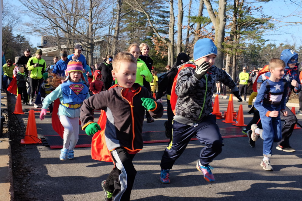 The BIG Little Hero Race, which includes a 10K, 5K and free 1-mile fun run, takes place Saturday, April 16 on the campus of Northwestern Michigan College in Traverse City.