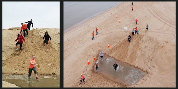 The ForeShore Adventure Race will be held at Pere Marquette Beach on May 21, 2016, and will feature over 15 obstacles on a wet and sandy 5K course.