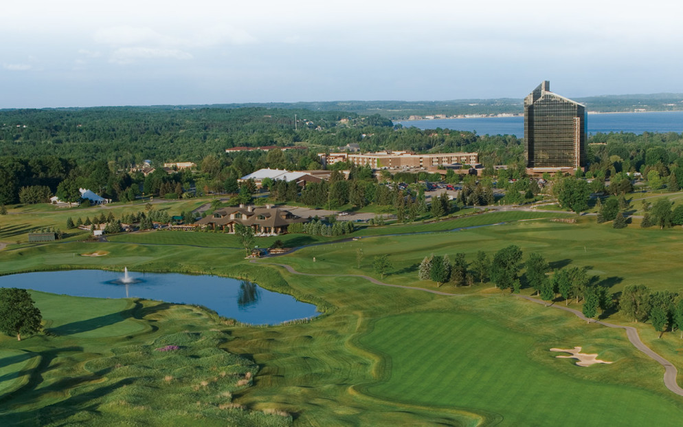 The Grand Traverse Resort and Spa - home to the first-ever Michigan Runner Girl Weekend, April 22-24, 2016.