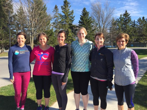 A run on the Resort's 5K course kicked off the first-ever Michigan Runner Girl Weekend on April 22-24.