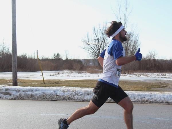 Northern Michigan runner Christo Miner.
