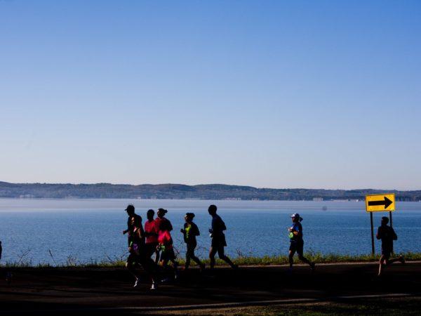 This year's Bayshore Marathon, Half Marathon and 10K take place Saturday, May 28. /PHOTO courtesy Traverse City Track Club.
