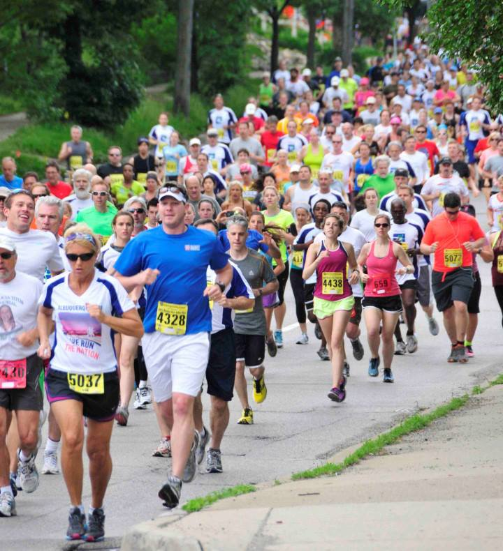 The Dexter to Ann Arbor Run is in its 43rd year.