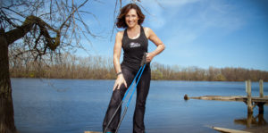 Cari Draft, founder and owner of EcoTrek Fitness.