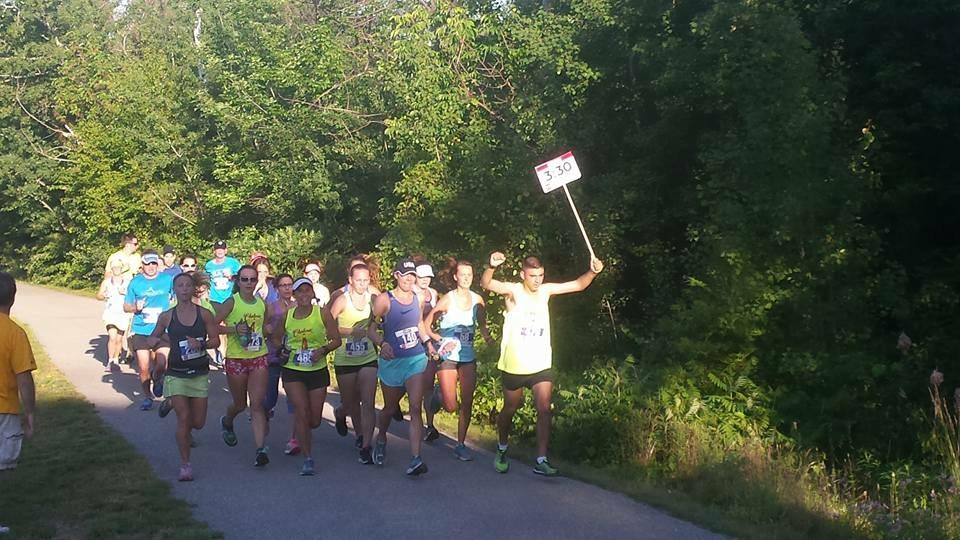 3:30 pacers rocking it out! /Photo courtesy Steve Petre.