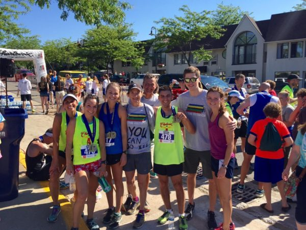 The 3:30 pacing team and Katherine & Co. /Photo courtesy the Lacksen family.
