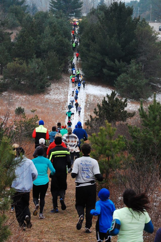 The Farmland 5K Run and Bike Free for All features a challenging and fun course on trails. /Photo courtesy race organizers