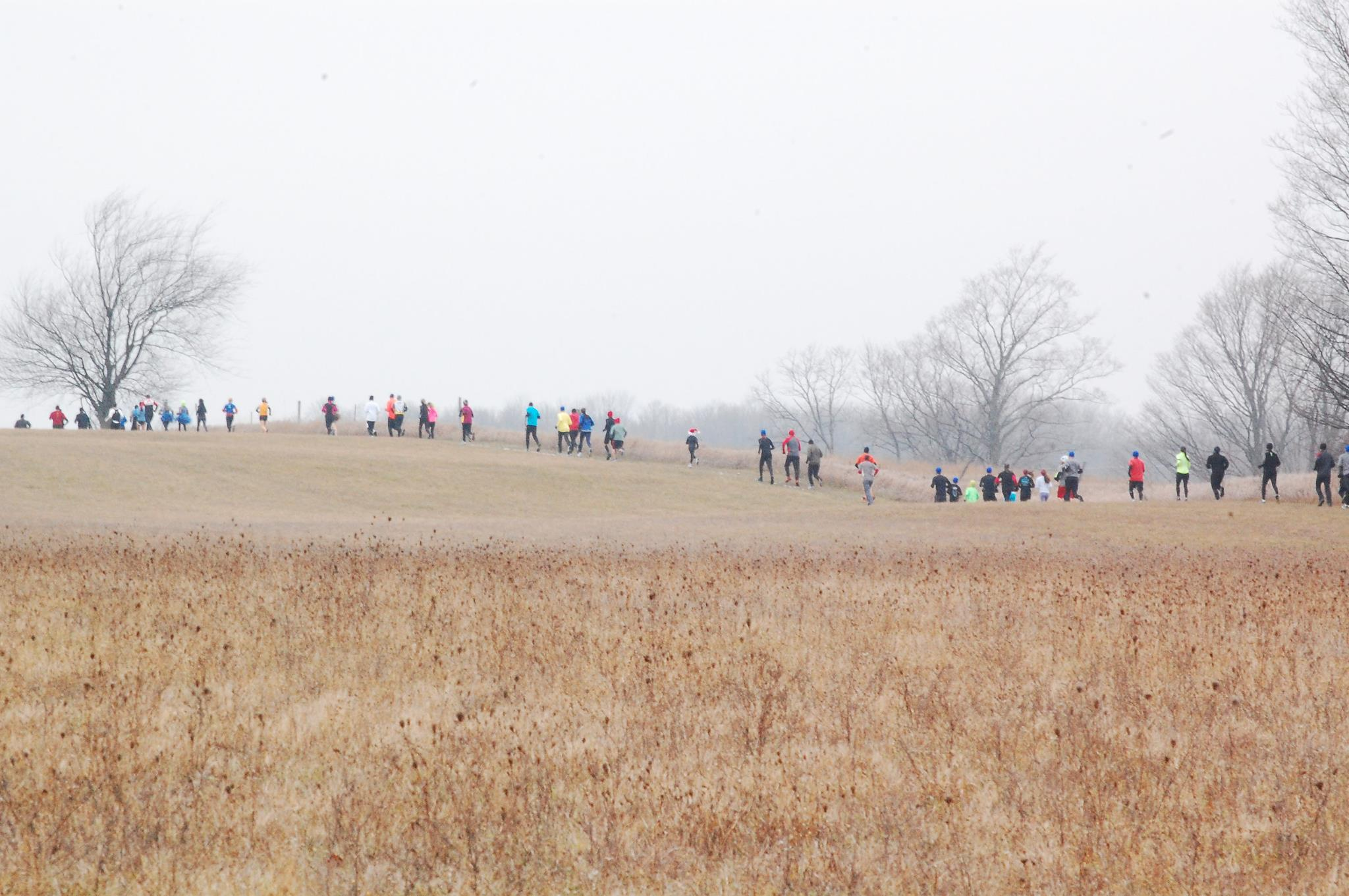 Some years have proven chillier (and snowier!) than others.../Photo courtesy race organizers