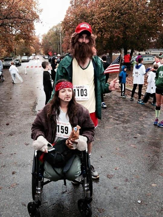 Traverse City Zombie Run participants get creative with their costumes.