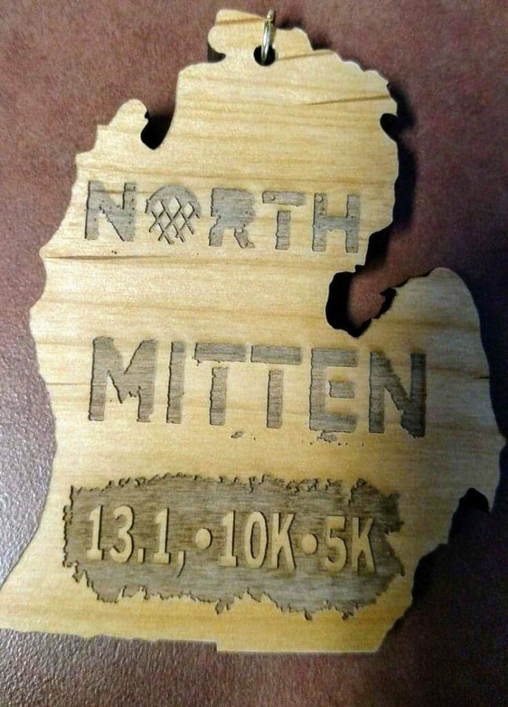 North Mitten medal