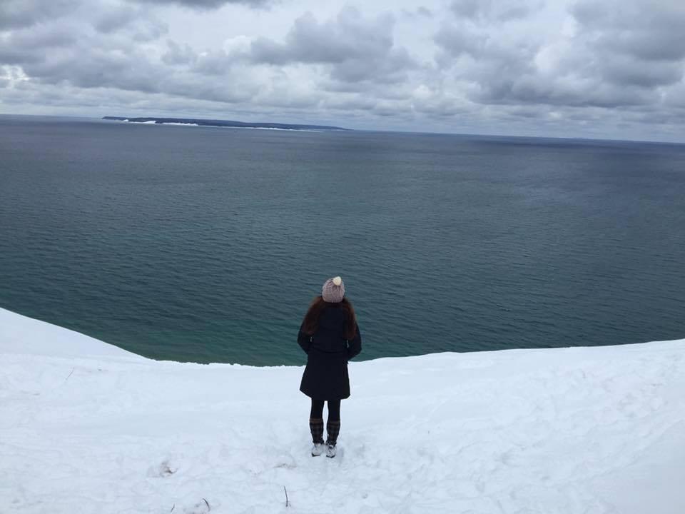 Pyramid Point, Lake Michigan